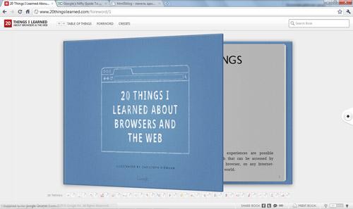 Книга от google на HTML5