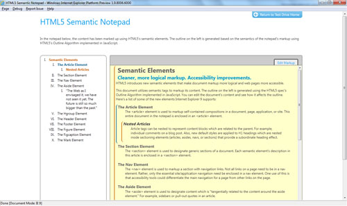 Блокнот Semantic Notepad